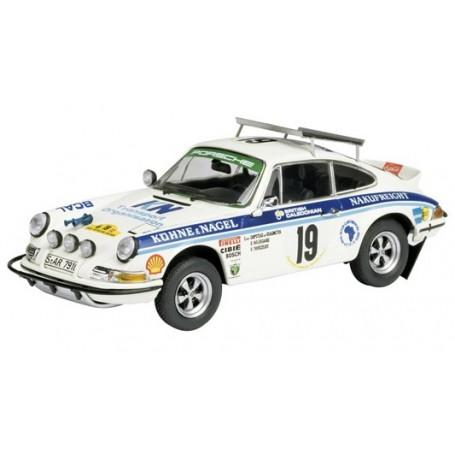 "Schuco 03558 Porsche 911 RS No.19 ""Safari Rallye 1974"" (Waldegaard/Thorszelius)"