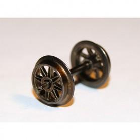 Trix 32301211 Hjulaxel ekerhjul, 1 st, DC, 11 mm hjuldiameter