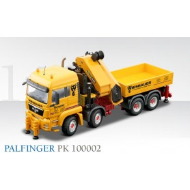 "Conrad 711930 Palfinger PK 100002 MAN TGS LX 4-axle with loading crane ""Wiesbauer"""