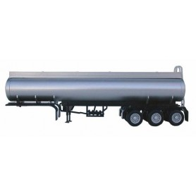 Promotex 5353.1 Elliptical Tri-Axle Tanker, silver