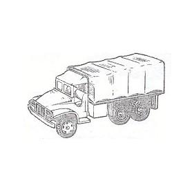 Eko 2057 Lastbil GMC med kapellflak