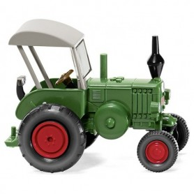 Wiking 88008 Lanz Bulldog with roof dark green, 1936