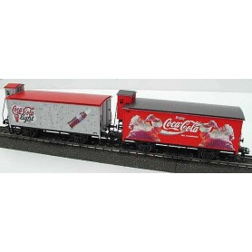 "Märklin 44562.006 Godsvagnsset ""Coca-Cola"" & ""Coca-Cola Light"""