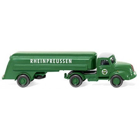 "Wiking 80049 Tank trailer truck (Magirus S 3500) ""Rheinpreussen"""