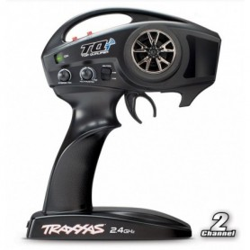 Traxxas 6509R Sändare TQi 2.4GHz (2-Channel) Intelligent Radio System TSM