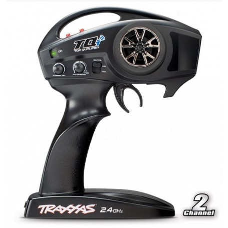 Traxxas 6509R Sändare TQi 2.4GHz (2-Channel) Intelligent Radio System TSM
