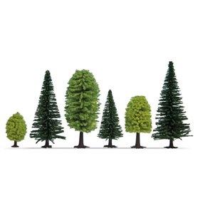Noch 32811 Mixad skog, 25 st, 3,5-9 cm