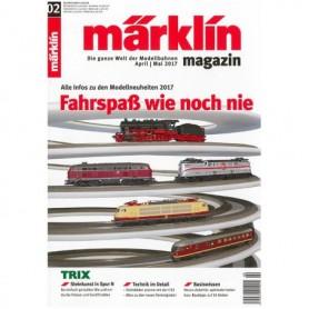 Märklin 286143 Märklin Magazin 2/2017 Tyska