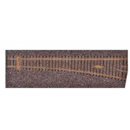Tillig 86515 Rälsbädd, brun, för Tillig Växel EW3, höger