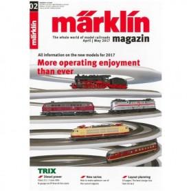 Märklin 286144 Märklin Magazin 2/2017 Engelska