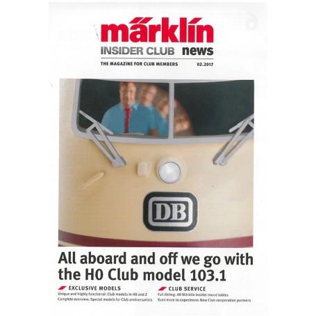 Märklin INS22017 Märklin Insider 02/2017, magasin från Märklin