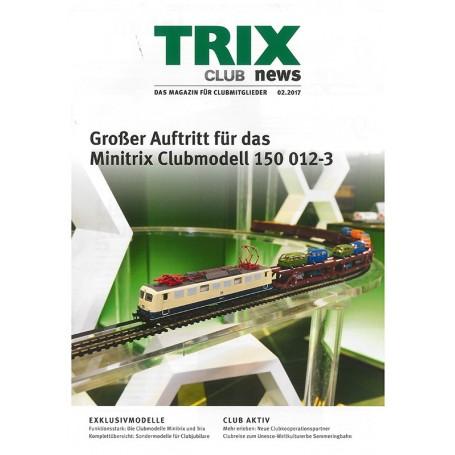 Trix CLUB22017 Trix Club 02/2017, magasin från Trix