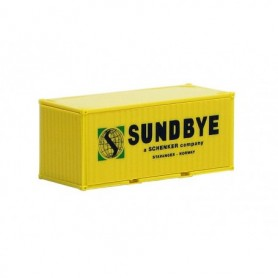 "Herpa 491370 Container 20 fots ""Sundbye"" (Herpa)"