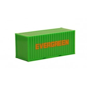 """Herpa 491377 Container 20 fots """"Evergreen"""" (AWM)"""
