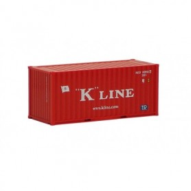 """Herpa 491416 Container 20 fots """"K-Line"""" (AWM)"""