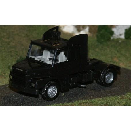 Herpa 580082 Scania Hauber 142 2-axlig hytt svart, chassie svart