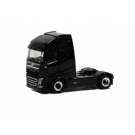 Herpa 590662 Dragbil Volvo GL FH XL 2013, 2-axlig, svart