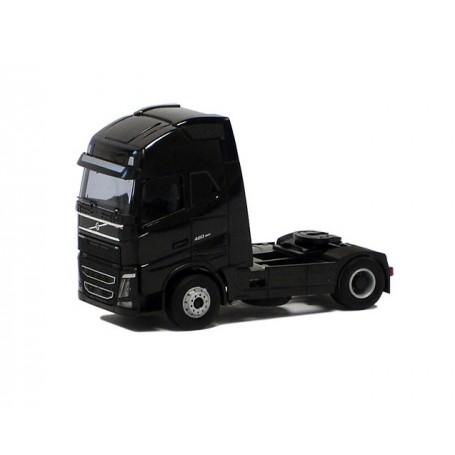 Herpa 590731 Dragbil Volvo GL FH XL 2013, 2-axlig, svart (AWM)
