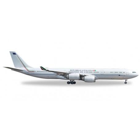 Herpa 530385 Flygplan Italian Air Force Airbus A340-500 - 31° Stormo, Ciampino AB - I-TALY