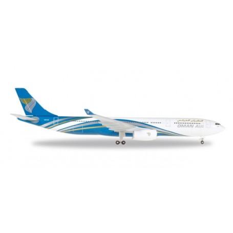 Herpa 530484 Flygplan Oman Air Airbus A330-300 - A40-DI