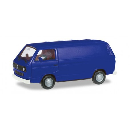 Herpa 093149 VW T3 Bus, ultramarin blue