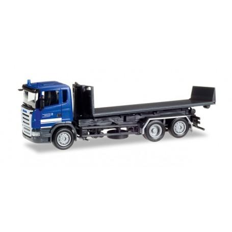 "Herpa 307505 Scania R flat truck ""THW Elmshorn"""
