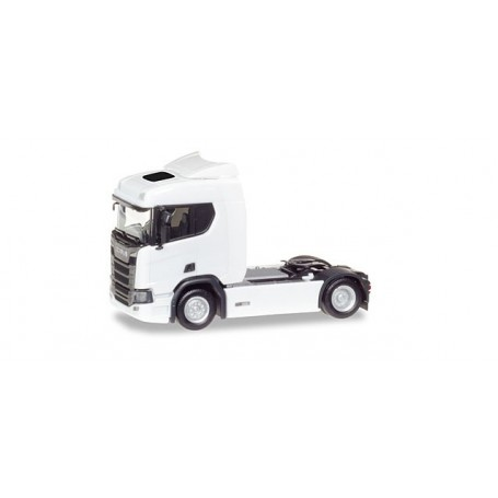Herpa 307642 Scania CR 20 ND rigid tractor, white