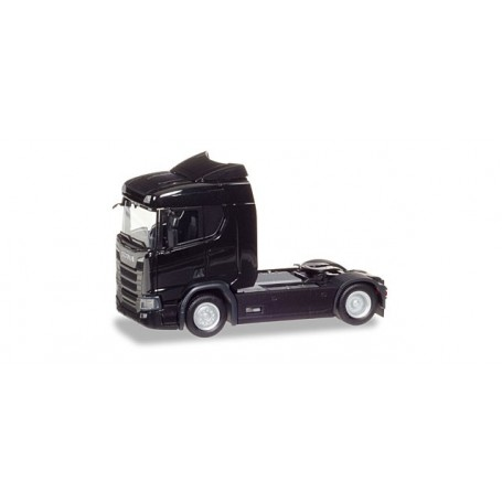 Herpa 307666 Scania CR 20 ND rigid tractor, black