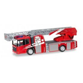 "Herpa 092937 Mercedes-Benz Econic turnable ladder truck ""Rosenbauervehicle with Metz Technology"""