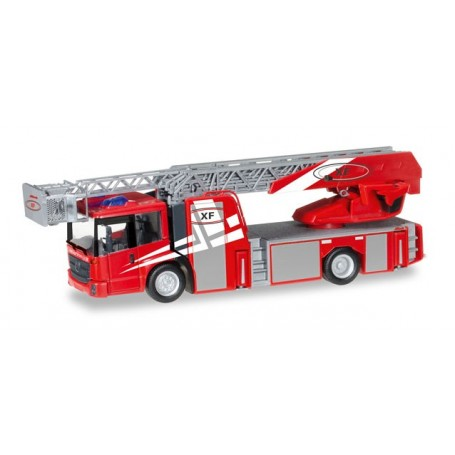 "Herpa 092937 Mercedes-Benz Econic turnable ladder truck ""Rosenbauervehicle with Metz Technology"""