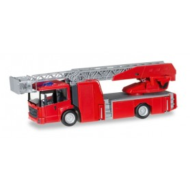 Herpa 013017 Minikit: Mercedes-Benz Econic turnable ladder truck, red