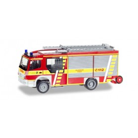 """Herpa 093132 Mercedes-Benz Atego Ziegler Z-Cab LF 20 """"Feuerwehr Rhede"""""""