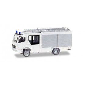 Herpa 012980 Minikit: Mercedes-Benz Atego Ziegler Z-Cab LF 20, white