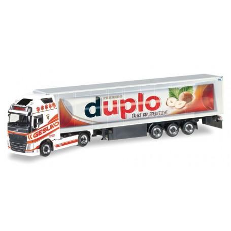 """Herpa 307482 Volvo FH GL XL Semitrailer """"Duplo"""""""