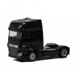 Herpa 610363 Dragbil DAF XF Euro 6 SSC, svart