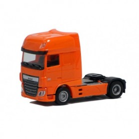Herpa 610366 Dragbil DAF XF Euro 6 SSC, orange