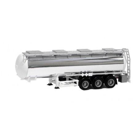 Herpa 660056 Kromtanktrailer, 3-axlig med svart chassie