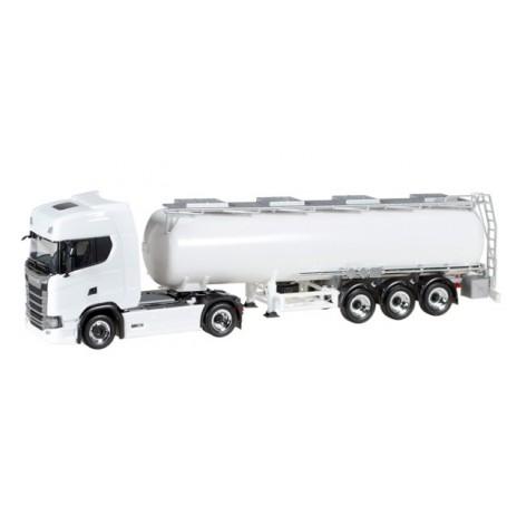 Herpa 927017 Scania CS20 HD med tanktrailer