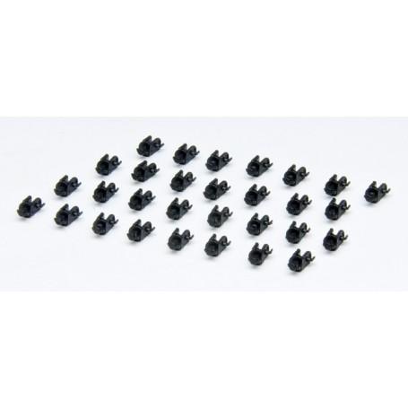 Herpa 691505 Koppelmekanism för dragbilar, 30 st