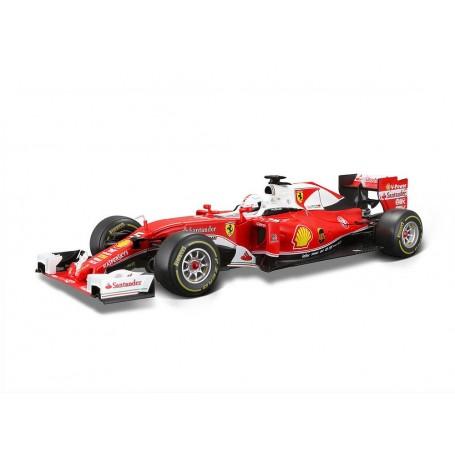 """Burago 16802V  Ferrari SF16-H """"Sebastian Vettel"""""""