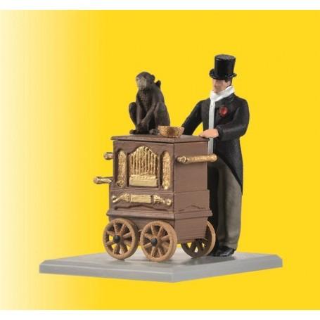 Viessmann 1549 Organ grinder, moving