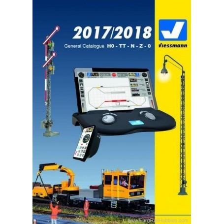 Media KAT419 Viessmann Katalog 2017/2018 Engelska