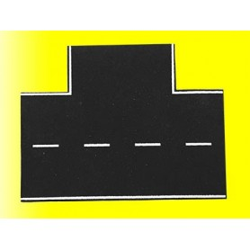 Vollmer 8263 Street plate asphalt, 90°-intersection, L 15,5 x W 13 cm