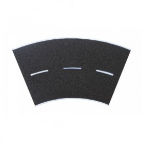 Vollmer 8265 Street plate asphalt, 45°-curve, radius 12 cm