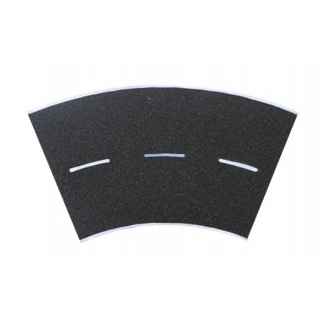 Vollmer 8267 Street plate asphalt, 45°- curve, radius 30 cm