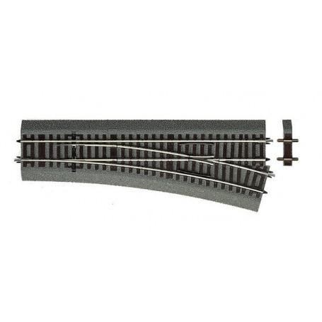 Roco 42533 Växel höger Wl15, längd 230 mm, radie 873,5 mm