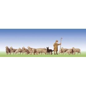 Faller 154001 Fåraherde med hund och får