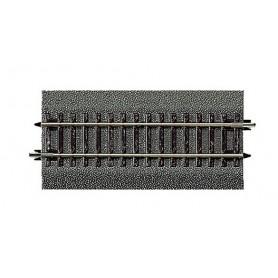 Roco 42512 Räls 1/2 Rak, längd 115 mm