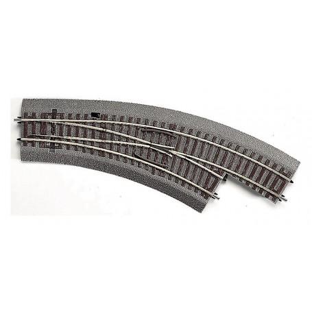 Roco 42559 Kurvväxel höger, manuell, R2/3 30°, radie 2 358 mm, radie 3 419,6 mm