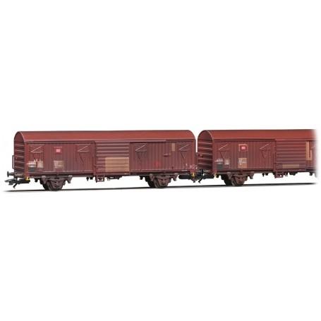 Märklin 47312 Vagnsset med 2 godsvagnar Gbs 256 typ DB AG